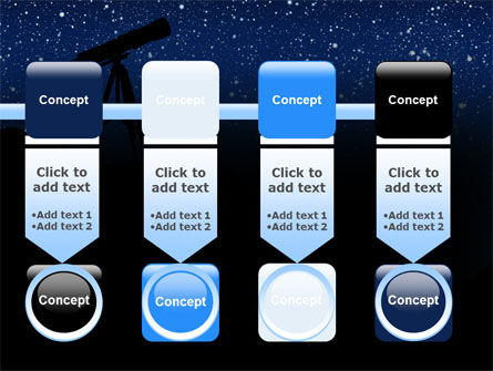 Stars Observation PowerPoint Template Slide 18