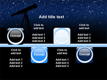 Stars Observation PowerPoint Template Slide 19