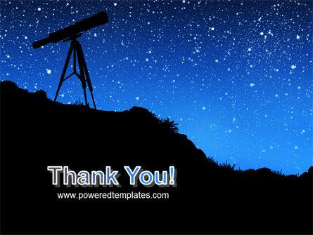 Stars Observation PowerPoint Template Slide 20
