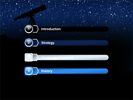 Stars Observation PowerPoint Template Slide 3
