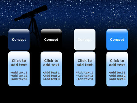 Stars Observation PowerPoint Template Slide 5