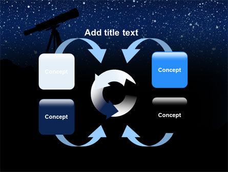 Stars Observation PowerPoint Template Slide 6