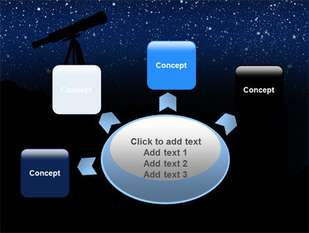 Stars Observation PowerPoint Template Slide 7