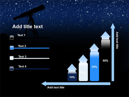 Stars Observation PowerPoint Template Slide 8