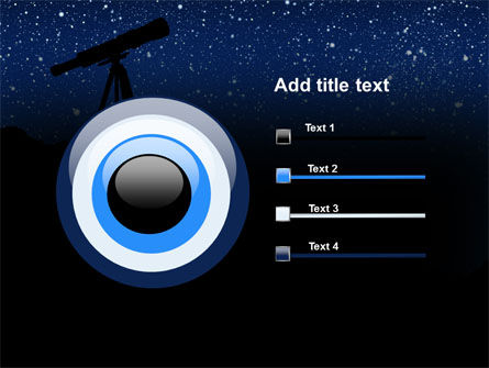 Stars Observation PowerPoint Template Slide 9