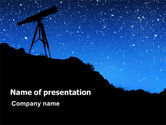 Education & Training: Stars Observation PowerPoint Template #07307