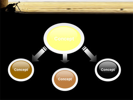 Machine Gun PowerPoint Template, Slide 4, 07308, Military — PoweredTemplate.com