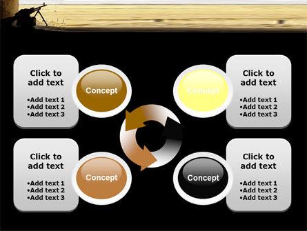 Machine Gun PowerPoint Template Slide 9