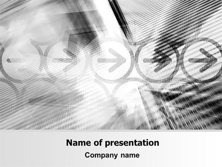 Association PowerPoint Template, 07310, Business — PoweredTemplate.com