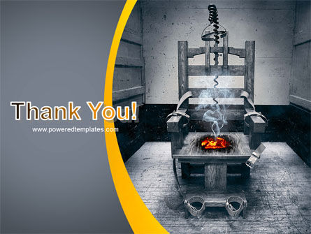 Electric Chair PowerPoint Template Slide 20