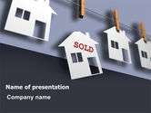Real Estate: House Sold PowerPoint Template #07312