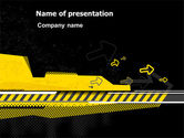 Consulting: Under Construction Theme PowerPoint Template #07313