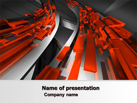 Abstract Flow PowerPoint Template