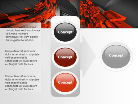 Abstract Flow PowerPoint Template Slide 11