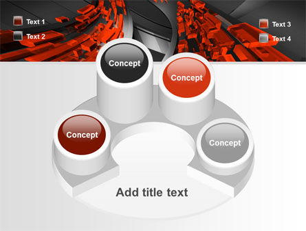Abstract Flow PowerPoint Template Slide 12