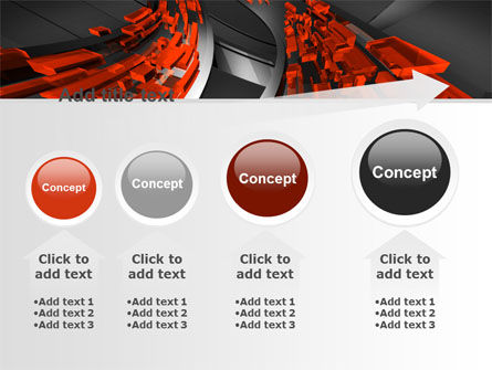Abstract Flow PowerPoint Template Slide 13