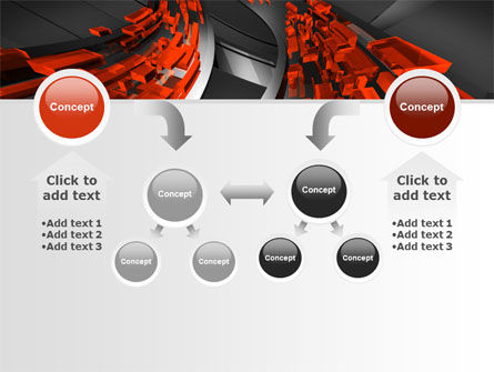 Abstract Flow PowerPoint Template Slide 19