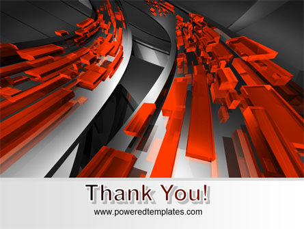 Abstract Flow PowerPoint Template Slide 20