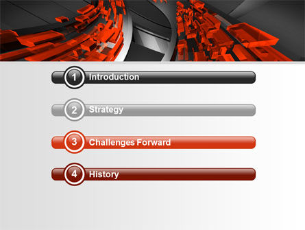 Abstract Flow PowerPoint Template Slide 3