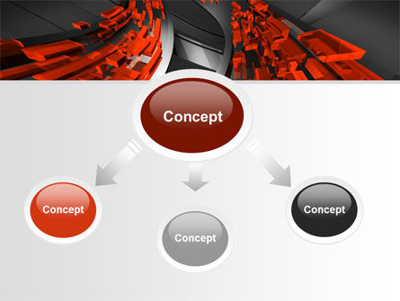 Abstract Flow PowerPoint Template Slide 4