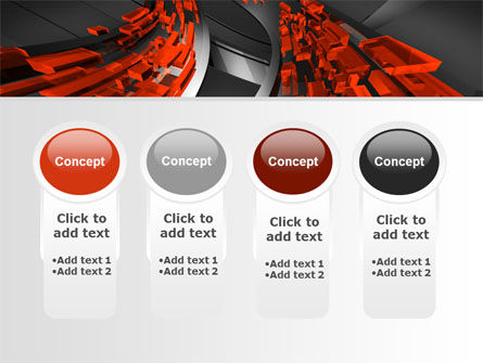 Abstract Flow PowerPoint Template Slide 5