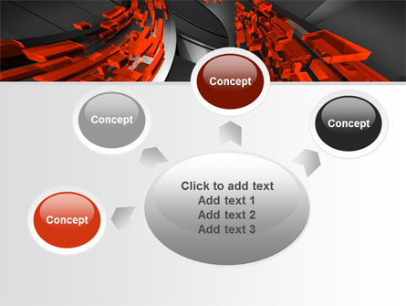 Abstract Flow PowerPoint Template Slide 7