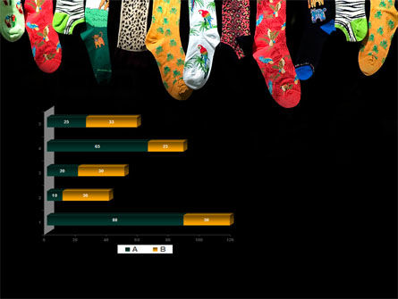 Socks PowerPoint Template Slide 11