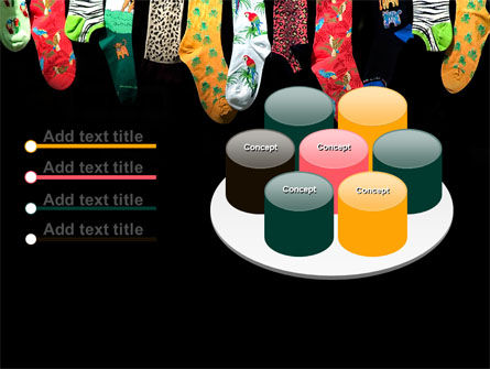 Socks PowerPoint Template Slide 12