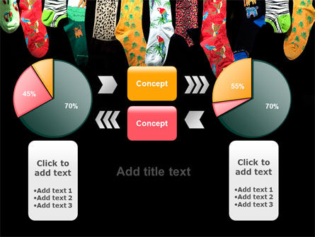 Socks PowerPoint Template Slide 16