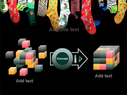 Socks PowerPoint Template Slide 17