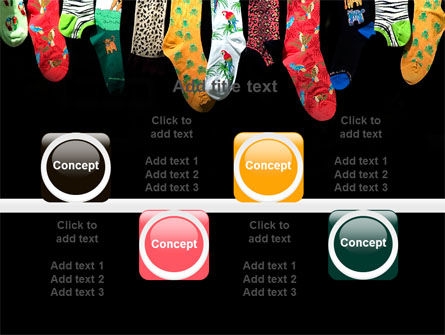 Socks PowerPoint Template Slide 18