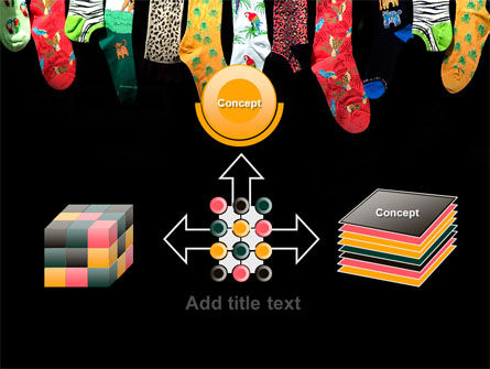 Socks PowerPoint Template Slide 19