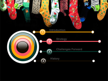 Socks PowerPoint Template, Slide 3, 07315, Education & Training — PoweredTemplate.com