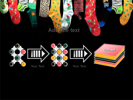 Socks PowerPoint Template Slide 9