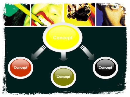 Youth Subcultures PowerPoint Template Slide 4