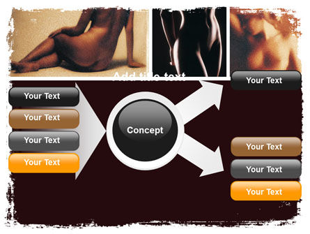 Nude Photography PowerPoint Template Slide 14