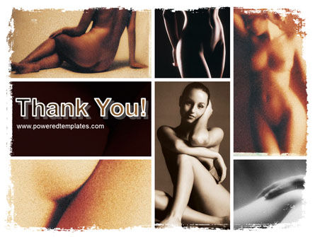 Nude Photography PowerPoint Template Slide 20