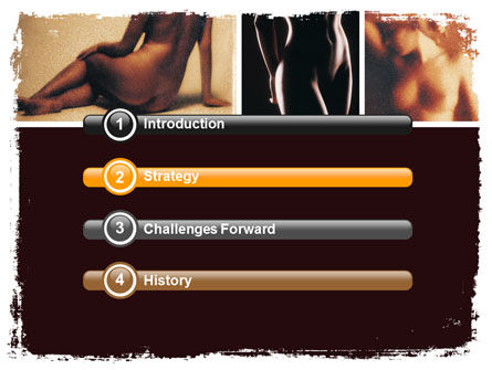 Nude Photography PowerPoint Template Slide 3
