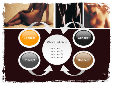 Nude Photography PowerPoint Template Slide 6