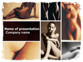 Art & Entertainment: Nude Photography PowerPoint Template #07322