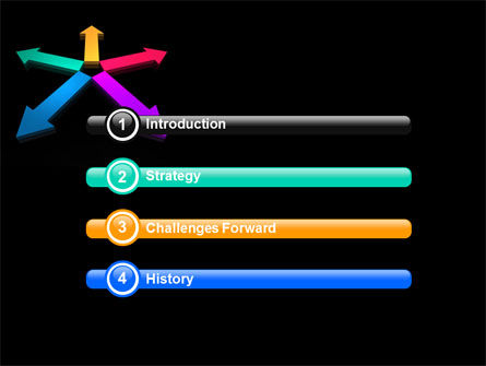 Tendency Direction Free PowerPoint Template, Slide 3, 07323, Consulting — PoweredTemplate.com