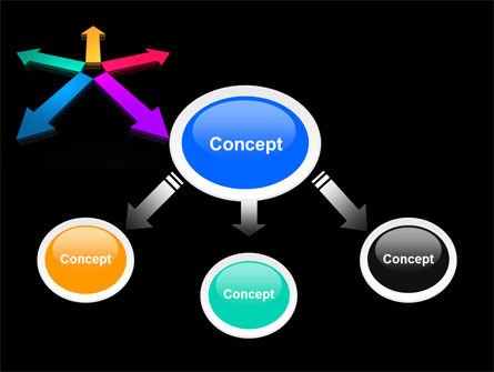 Tendency Direction Free PowerPoint Template, Slide 4, 07323, Consulting — PoweredTemplate.com