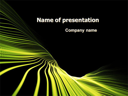 Abstract/Textures: Surface Mapping PowerPoint Template #07324