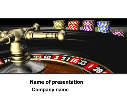 Roulette PowerPoint Template