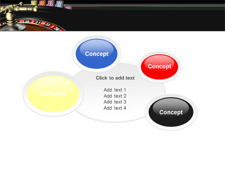 Roulette PowerPoint Template Slide 16