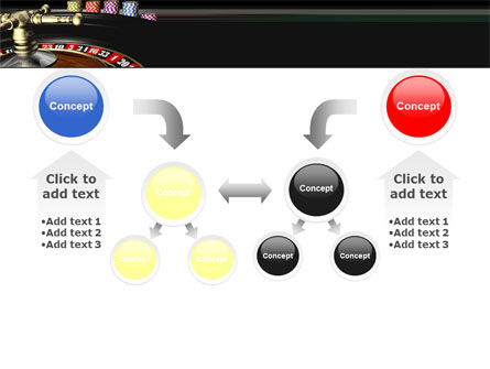 Roulette PowerPoint Template Slide 19