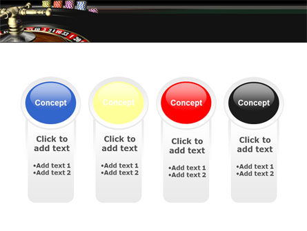 Roulette PowerPoint Template Slide 5