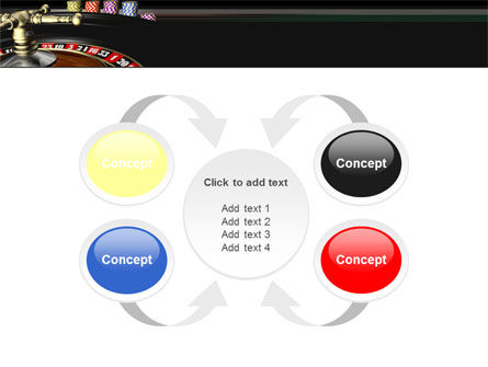 Roulette PowerPoint Template Slide 6