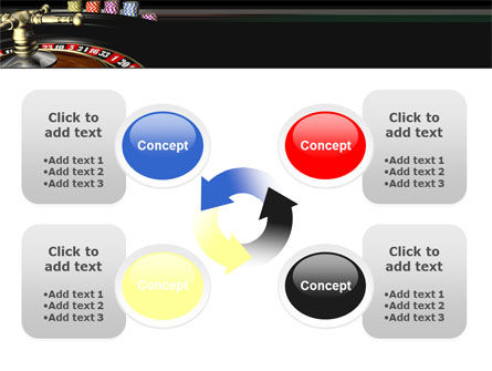 Roulette PowerPoint Template Slide 9