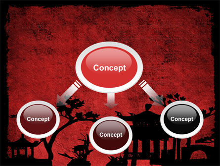 Chinese Theme PowerPoint Template, Slide 4, 07330, Art & Entertainment — PoweredTemplate.com